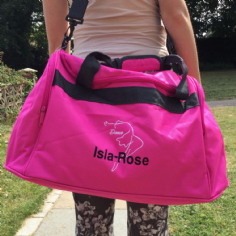 Personalised DANCE Bag Mini Holdall  BG200